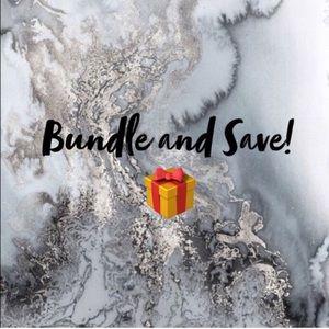 BUNDLE AND SAVE ✨